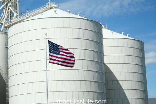 large silos
