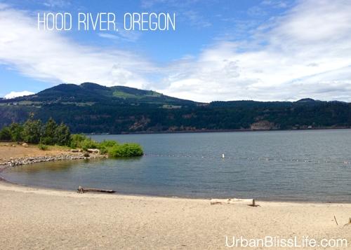 Portland to Hood River: Hood River waterfront park