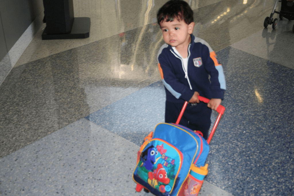 son airport luggage travel
