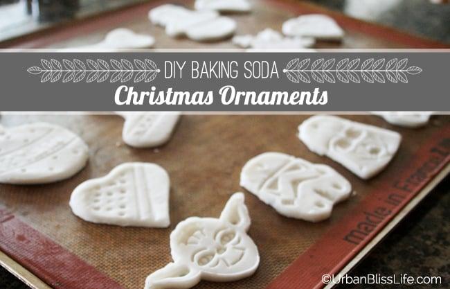 DIY Christmas Baking Soda Ornaments
