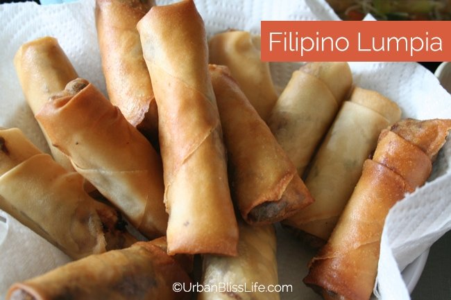 Cooking Class - Filipino Lumpia