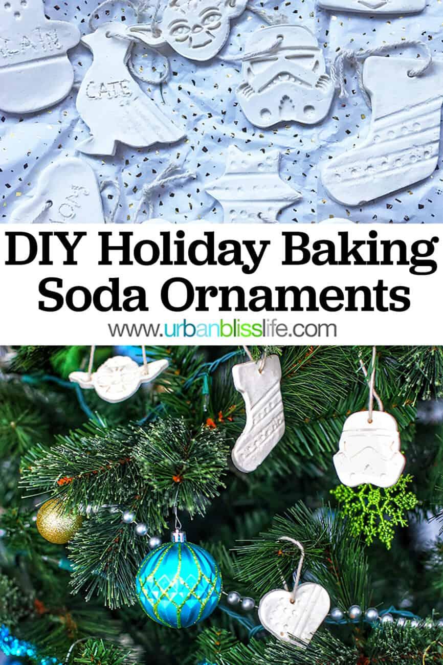 DIY baking soda ornaments