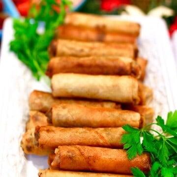 Lumpia - Filipino spring rolls