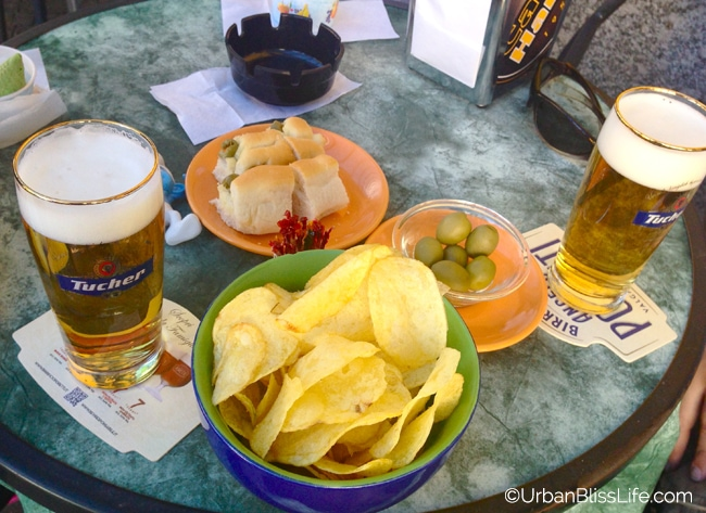 Lake Como, Italy - beer