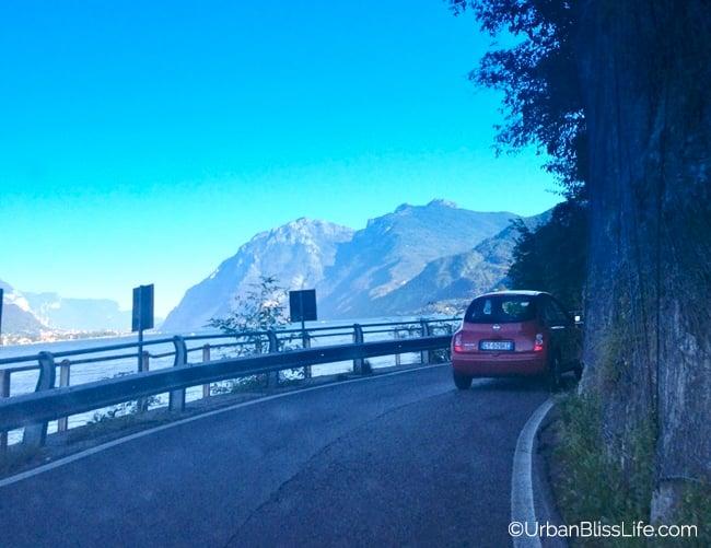 Lake Como, Italy - narrow streets