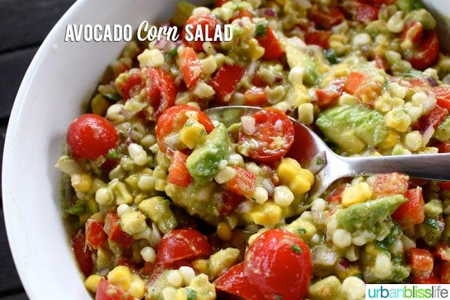 Avocado Corn Salad