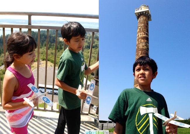 Astoria Column // Family Travel to Astoria, Oregon