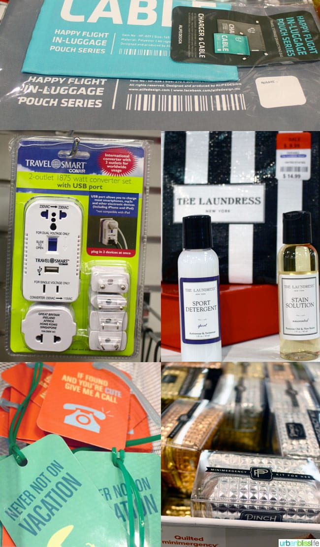 Container Store travel essentials