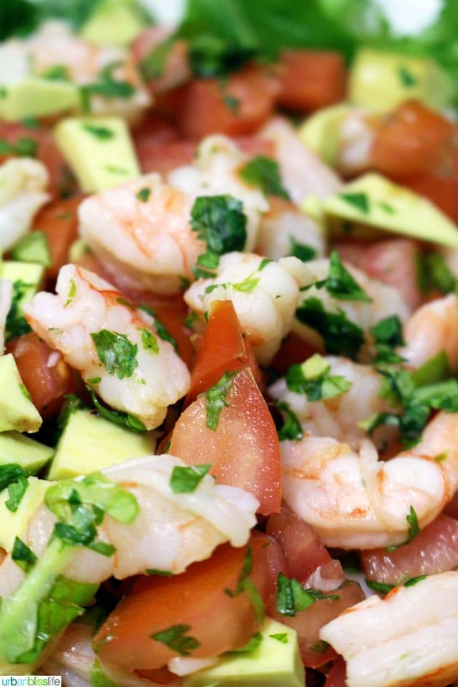 Ceviche Style Tequila Lime Shrimp