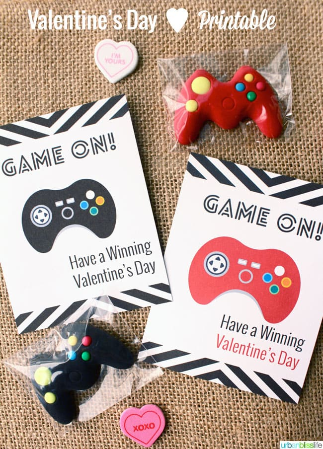 Valentines Day GAME ON Cards©UrbanBliss