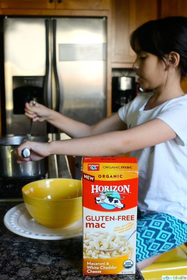 Horizon Organic Gluten Free Mac and Cheese