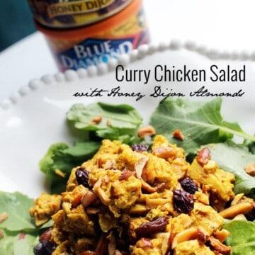 Blue Diamond Honey Dijon Curry Chicken Salad