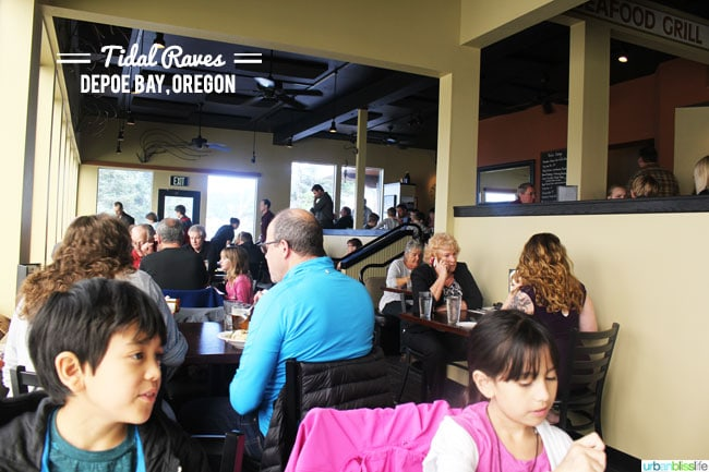 Tidal Raves restaurant Oregon Coast