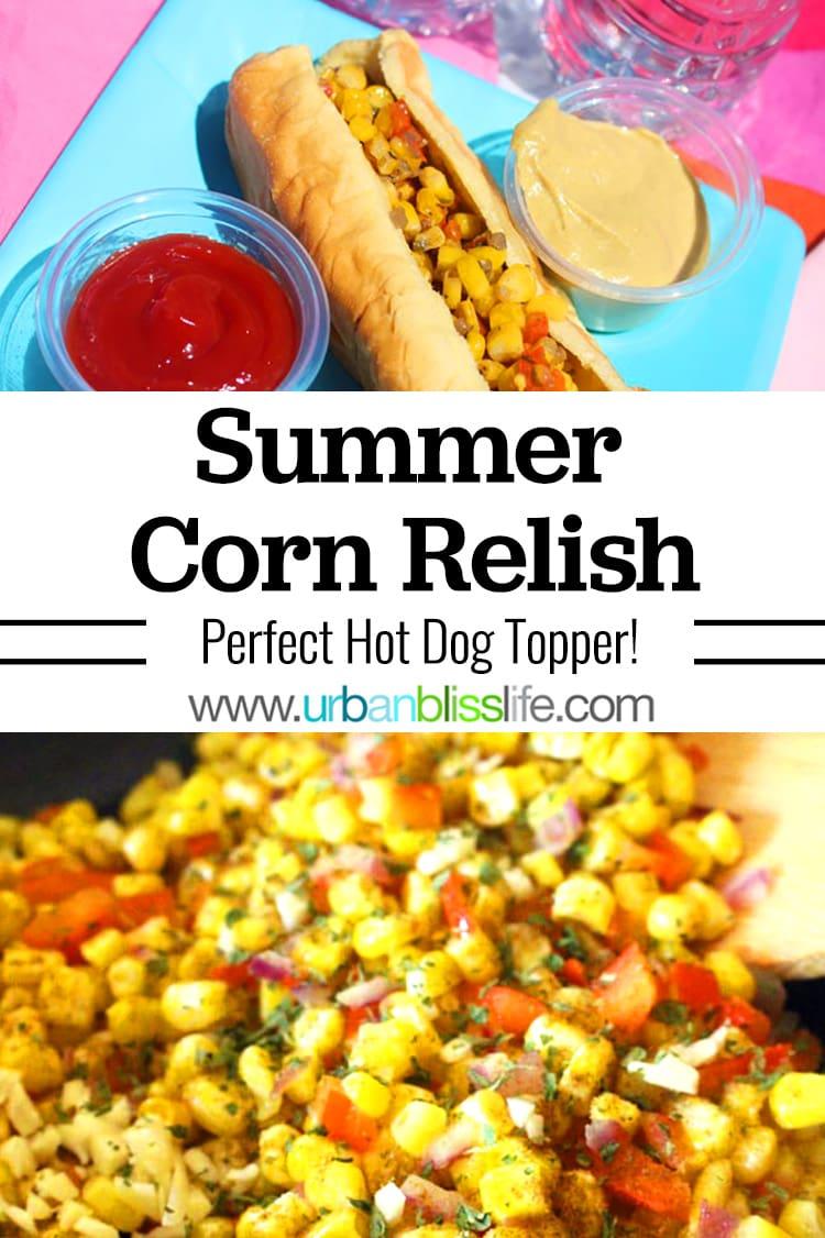 summer corn relish