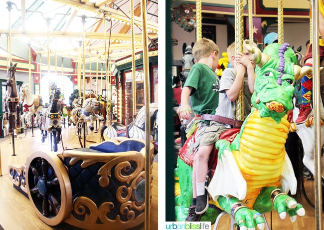 Family-Friendly Activities in Missoula, Montana: The Carousel, on UrbanBlissLife.com