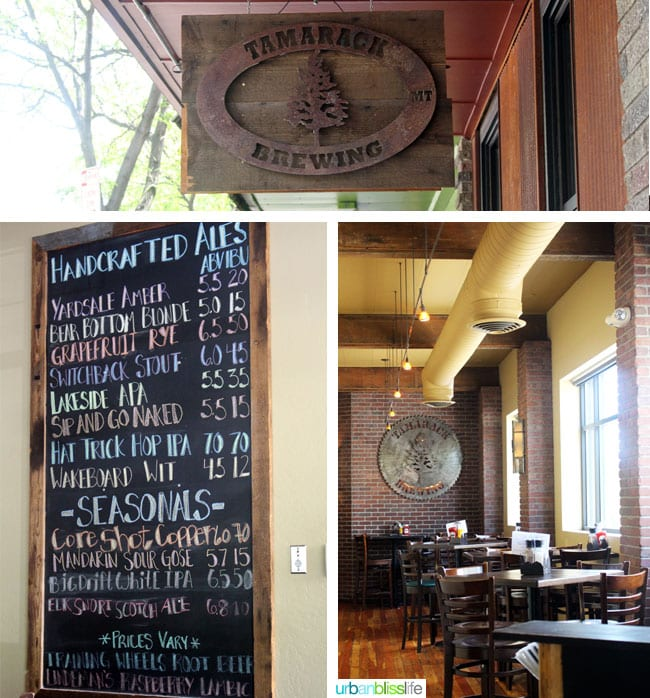 Places to eat in Missoula, Montana: Tamarack Brewing