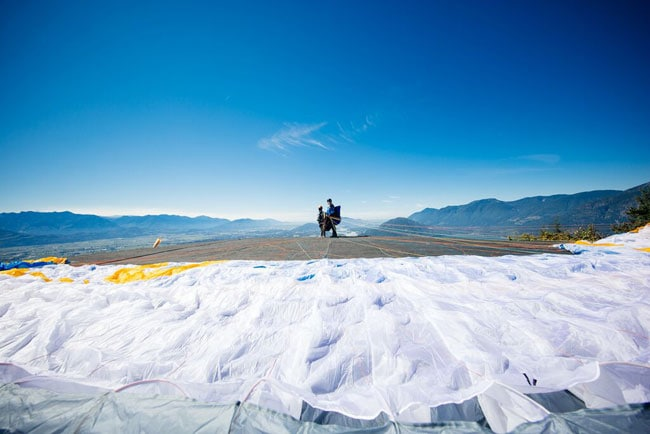 Fraser Valley Paragliding in British Columbia