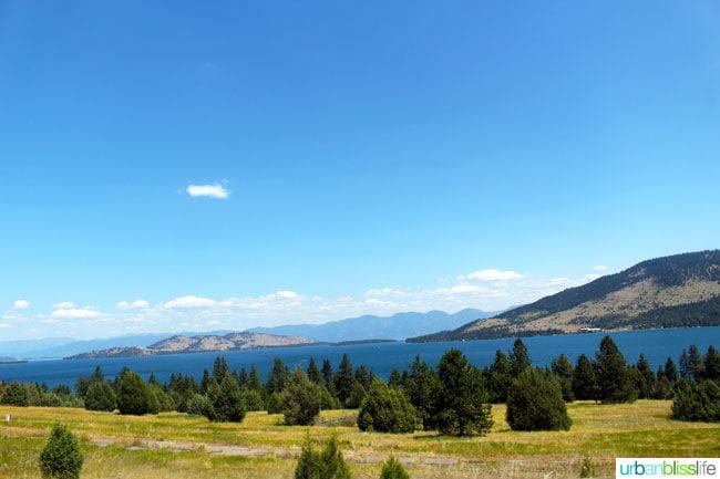 Flathead Lake Montana   Travel Bliss on UrbanBlissLife.com
