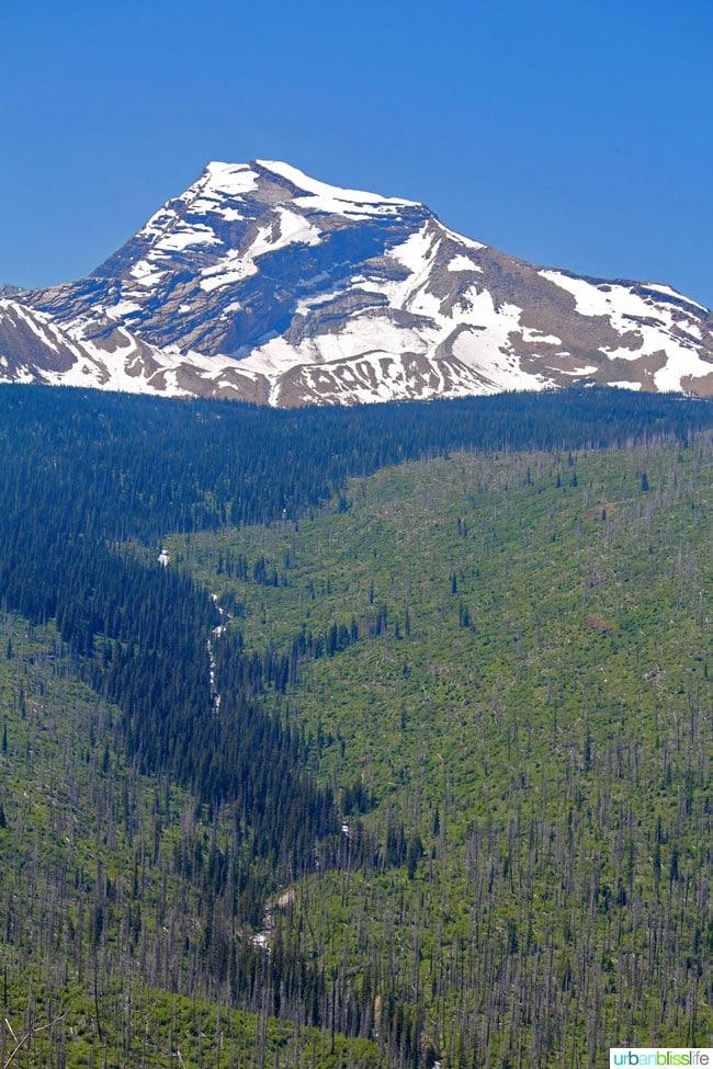 Visiting Glacier National Park in Montana