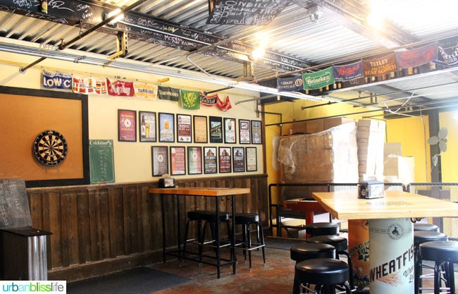 Bar at Great Northern Brewing Co., on UrbanBlissLife.com