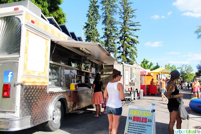 things to do in Kalispell Montana: food carts