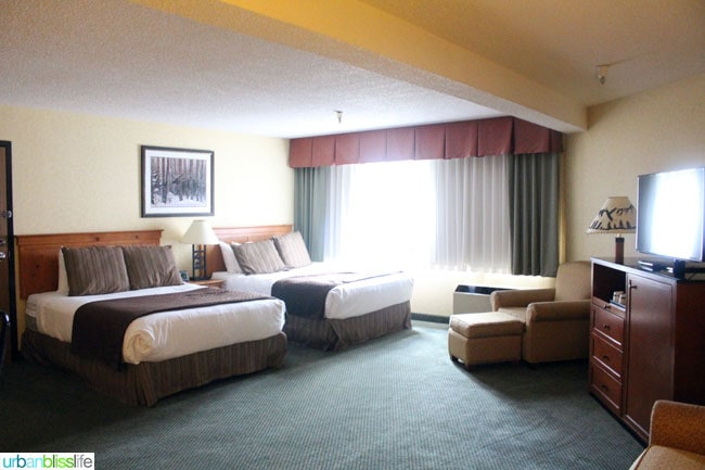 guest room at red lion hotel in Kalispell Montana