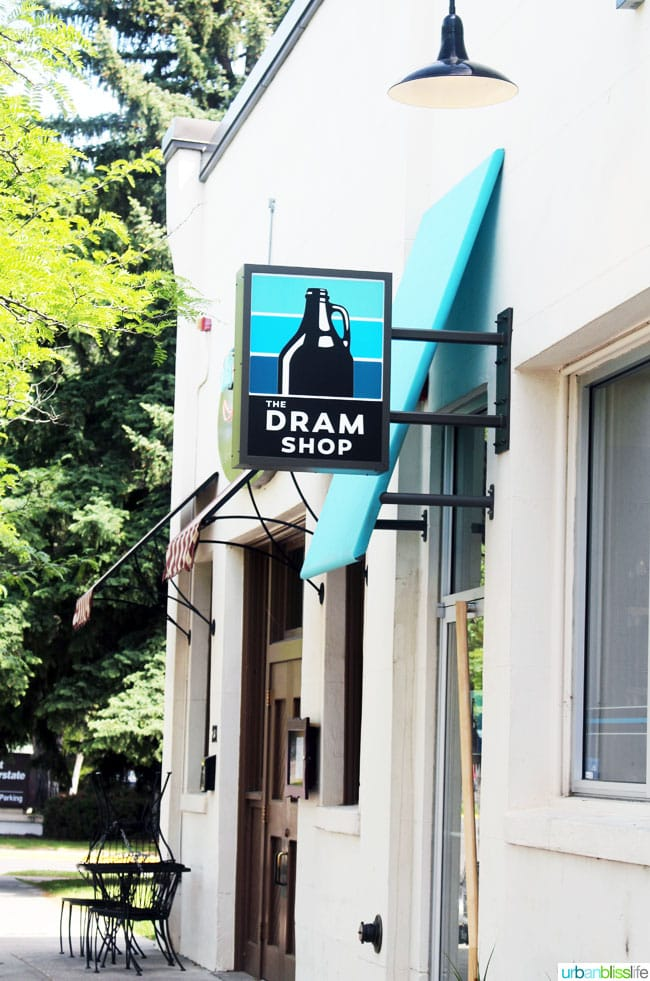 Places to Eat in Missoula, Montana: Dram Shop beer