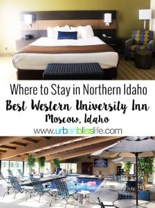 Where to Stay in Northern Idaho: Best Western University Inn, Moscow, Idaho, UrbanBlissLife.com