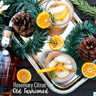 Rosemary Citrus Old Fashioned cocktail recipe