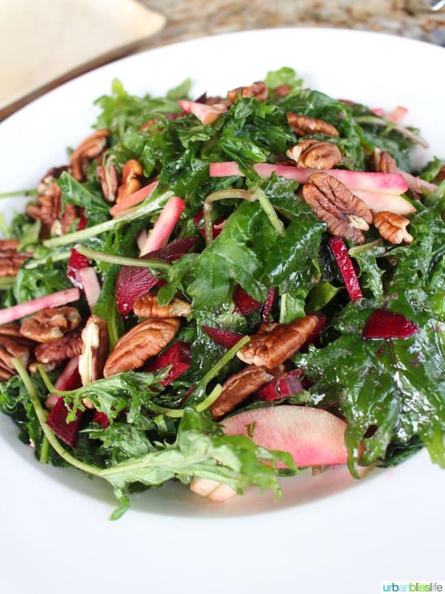 salad with walnuts