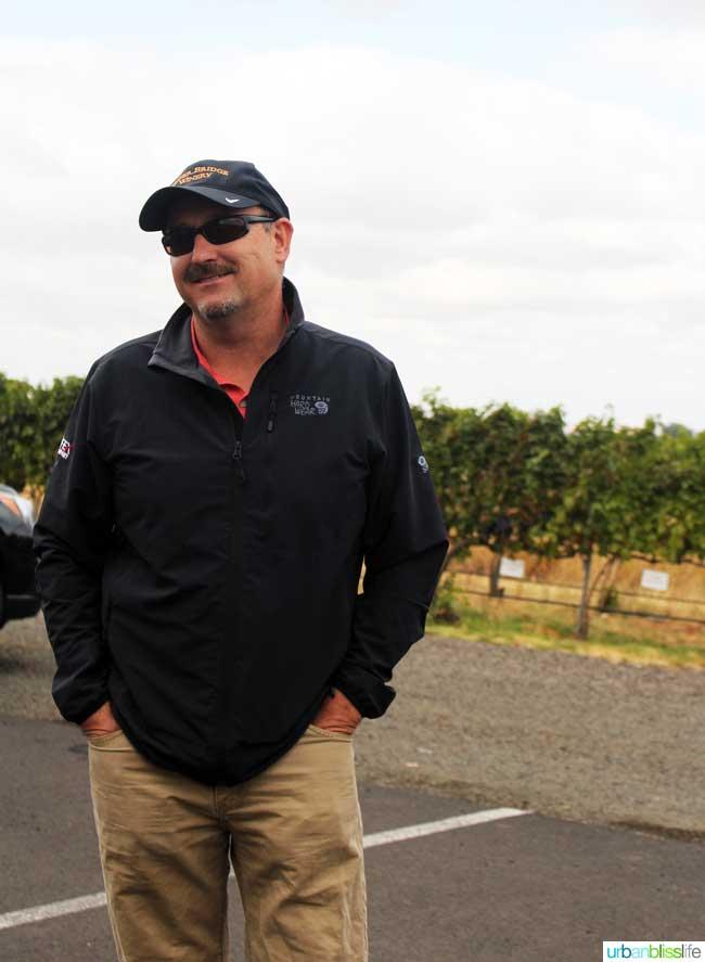Pepper Bridge winemaker Jean-Francois Pellet
