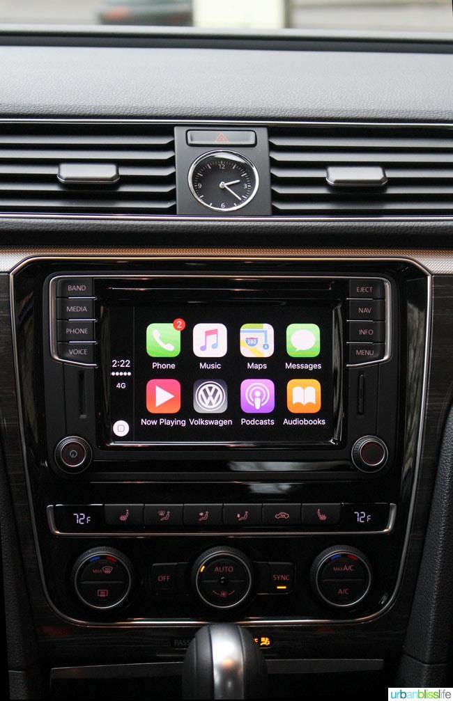 2016 Volkswagen Passat technology