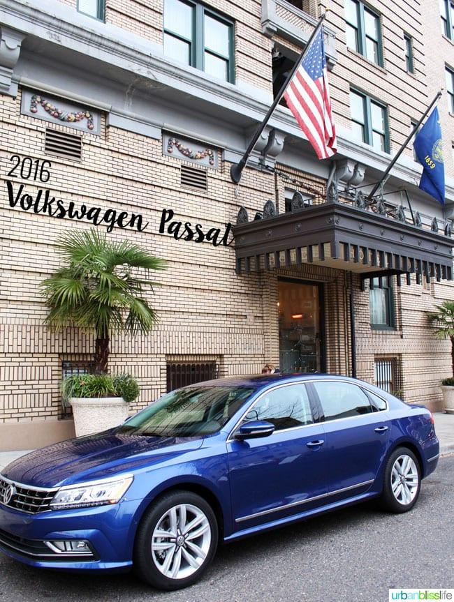 2016 Volkswagen Passat car review on UrbanBlissLife.com