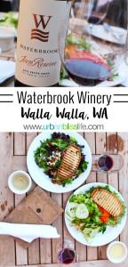 Waterbrook Winery in Walla Walla, Washington on UrbanBlissLife.com