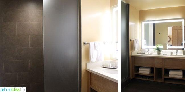 Inn at 5th hotel in Eugene, Oregon - bathroom