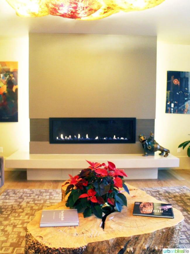 Inn at 5th hotel in Eugene, Oregon - fireplace