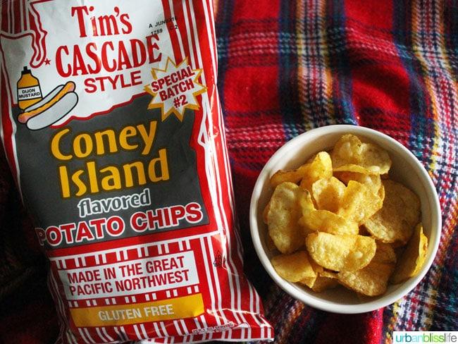 tims cascade coney island potato chips