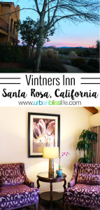 Vintners Inn in Healdsburg, California is a romantic hotel perfect for your Sonoma Wine Country weekend. Details on UrbanBlissLife.com