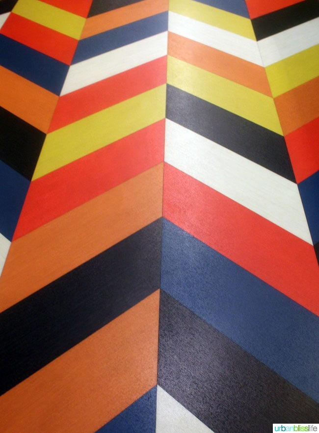 striped artwork