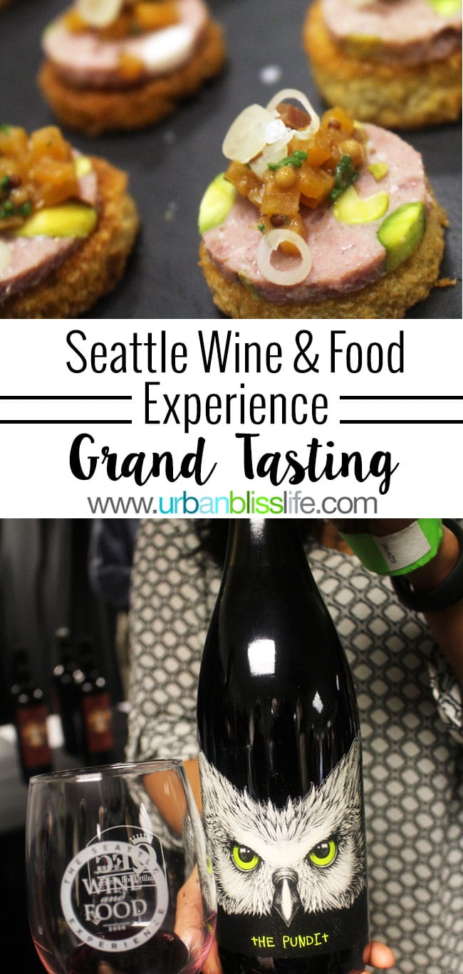 2016 Seattle Wine and Food Experience: Grand Tasting, on UrbanBlissLife.com