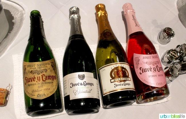 sparkling wines
