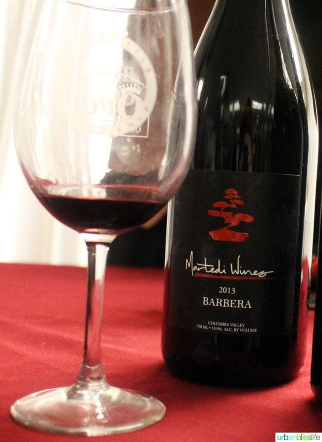 martedi wines barbera