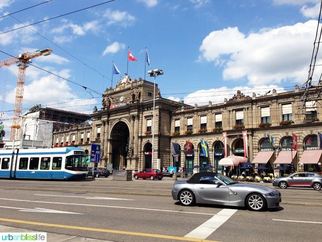 Tips for Traveling to Zurich With Kids on UrbanBlissLife.com