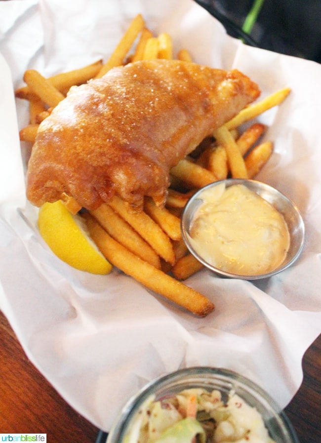 10 Acres Restaurant fish and chips
