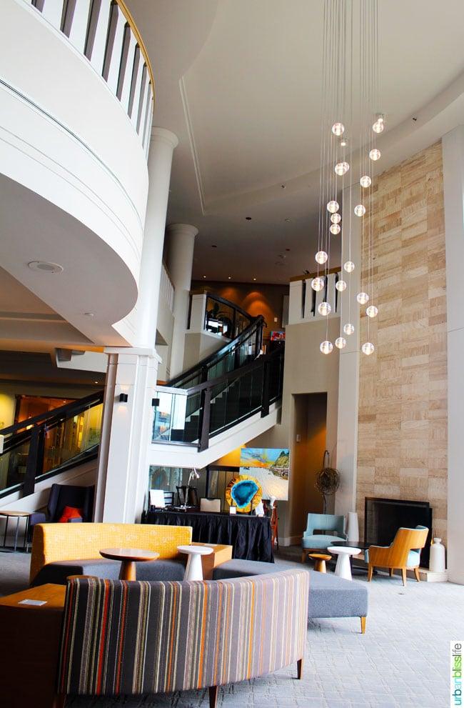 Delta Victoria Ocean Pointe Resort lobby