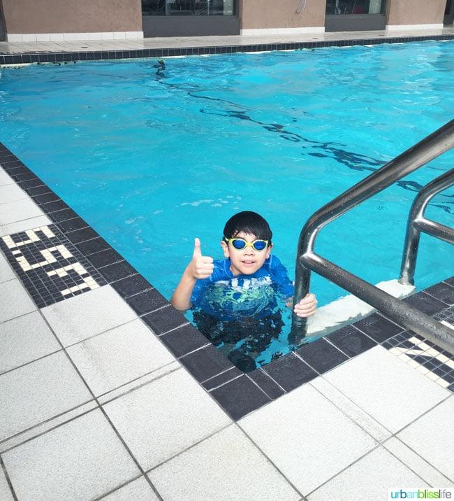Delta Victoria Ocean Pointe Resort indoor pool