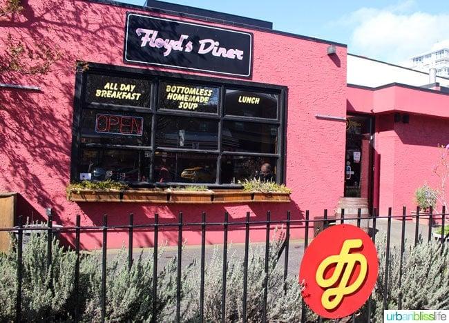 Victoria BC restaurants: Floyd's Diner