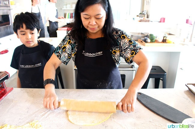 Cooking Classes in Victoria BC: making homemade pasta