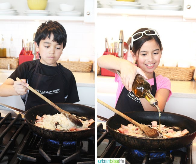 Cooking Classes in Victoria BC: kids cooking