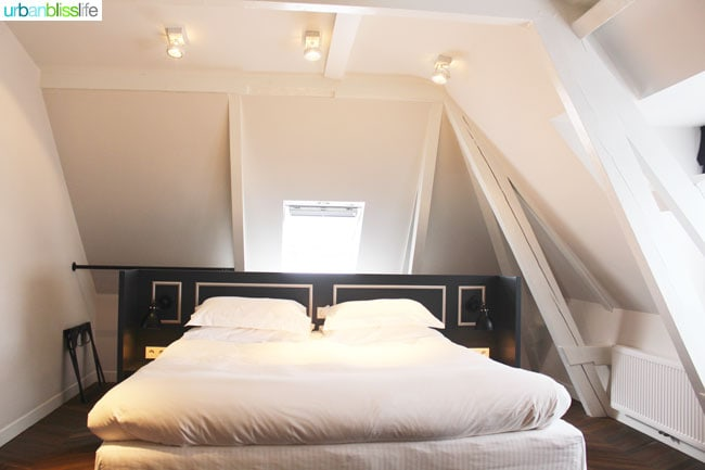 Where to Stay in Amsterdam. Morgan and Mees guest room